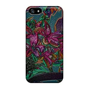 Cool Flowers For Iphone ipod touch4 /PC mobile Back Covers Snap On Cases For Iphone covers protection yueya's case