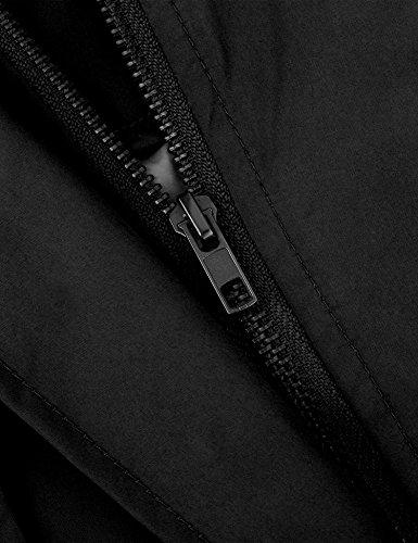Vessos - Abrigo impermeable - Manga Larga - para mujer negro