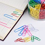 Shappy Paper Clips Medium and Jumbo Size, 450