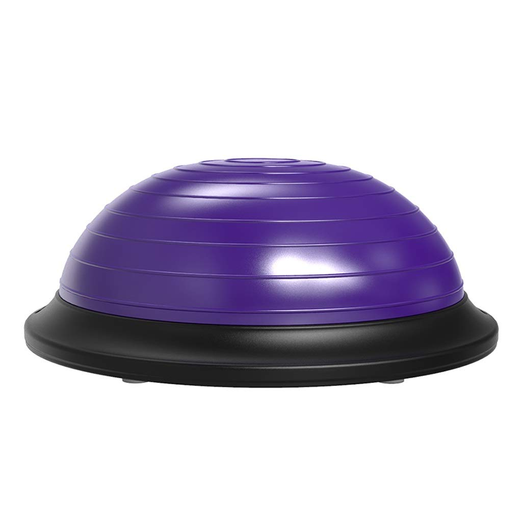 Sports Fitness Yoga Wave Speed Ball Thickened Explosion-Proof Household Semi-Circle Balance Ball Teaching Fitness Ball Pilates Yoga Ball (Load Bearing: 200kg) Exercise Ball Chairs