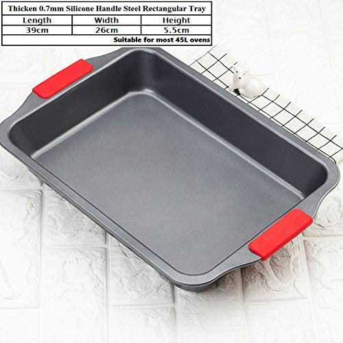 Amazon.com: Advanced Carbon Steel Nonstick Square Baking Pan ...