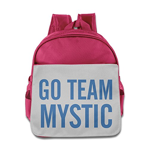 Price comparison product image VYily Children's Go Team Mystic Blue-PokeGO Backpack Pink One Size
