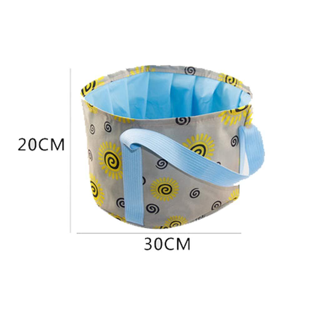 15L Portable Collapsible Basin wash Basin Travel Large washbasin wash Foot Bucket Outdoor Foam Bag Travel tub