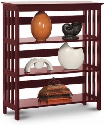Cherry Book Shelf Case Bookshelf Bookcase Rack Mission Style