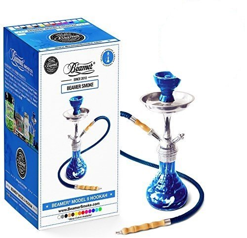 Blue-Beamer-Model-9-Hookah-Set-Limited-Edition-Beamer-Smoke-Sticker