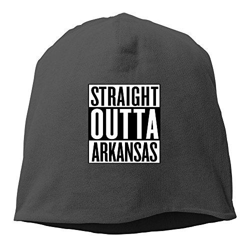 Straight Outta lana para niña Arkansas de Gorro Negro w1ROPP