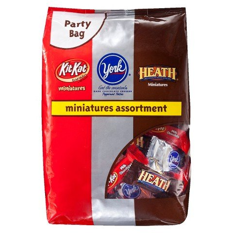 York Miniatures Assortment Party Bag 35.64 oz