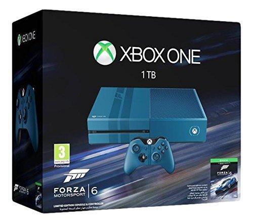 Xbox One – Consola 1 TB, Edición Limitada + Forza Motorsport 6