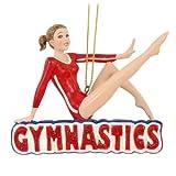 Kurt Adler Gymnastic Girl Christmas Ornament