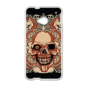 Leopard Skull Hot Seller High Quality Case Cove For HTC M7