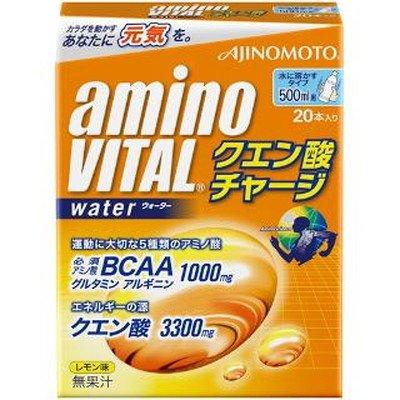 アミノバイタルクエン酸チャージウォーター 20本入 【5個パック】 B00Z06N2OK