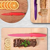 MICHELANGELO Kitchen Knife Set 10 Piece, High