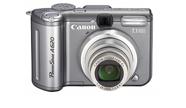 Canon PowerShot A620 - Cámara Digital Compacta 7.1 MP: Amazon.es ...