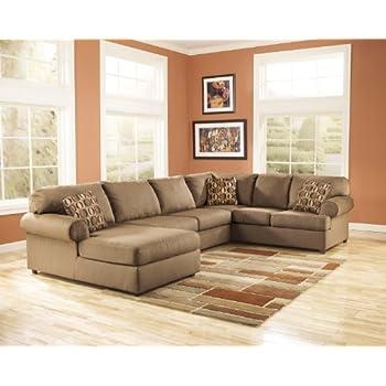 ashley cowan sectional sofa with right arm facing sofa