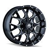 Mayhem Warrior 8015 Black Wheel with Milled Spokes (18x9''/10x150mm)