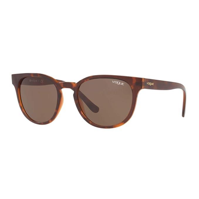 Ray-Ban 0VO5271S Gafas de Sol, Top Dark Havana/Light Brown ...