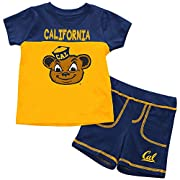 California Golden Bears Colosseum BABY INFANT Shorts & Tee Outfit Set (6-12M)