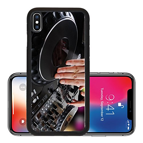 Liili Premium Apple iPhone X Aluminum Backplate Bumper Snap Case dj Photo 6526517]()