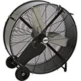Bannon Enclosed Motor Direct Drive Drum Fan - 36in., 16,090 CFM