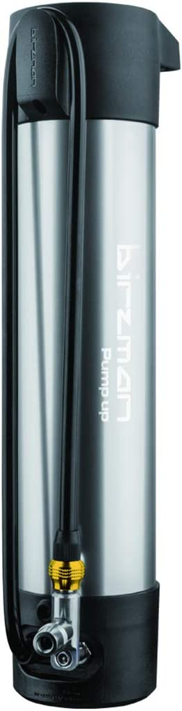 Birzman PUMP UP Tire Booster Tubeless Inflator 1.2 L//220 psi SILVER