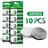 LiCB CR2025 battery 2025 3V Lithium Battery (10-pack)