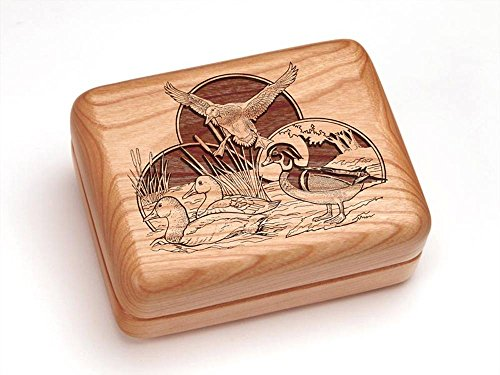 Heartwood Creations 4x3 Box with Money Clip/Pocket Knife - Duck ()