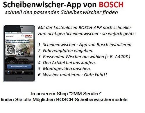 Ar503s 3397118993 Bosch Aerotwin Scheibenwischer Flachbalken Wischblatt Ar 503 S Satz Nachrüstungsset Bosch Aerotwin Ar503s Auto