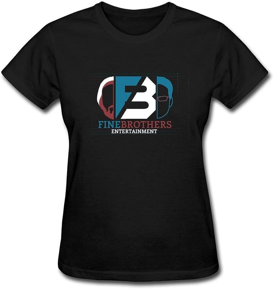 Kingdiny Women S Fine Brothers Logo Art Shirts