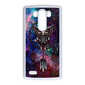 Diy Owl Dream Catcher Phone Case for LG G3 White Shell Phone JFLIFE(TM) [Pattern-1] by icecream design