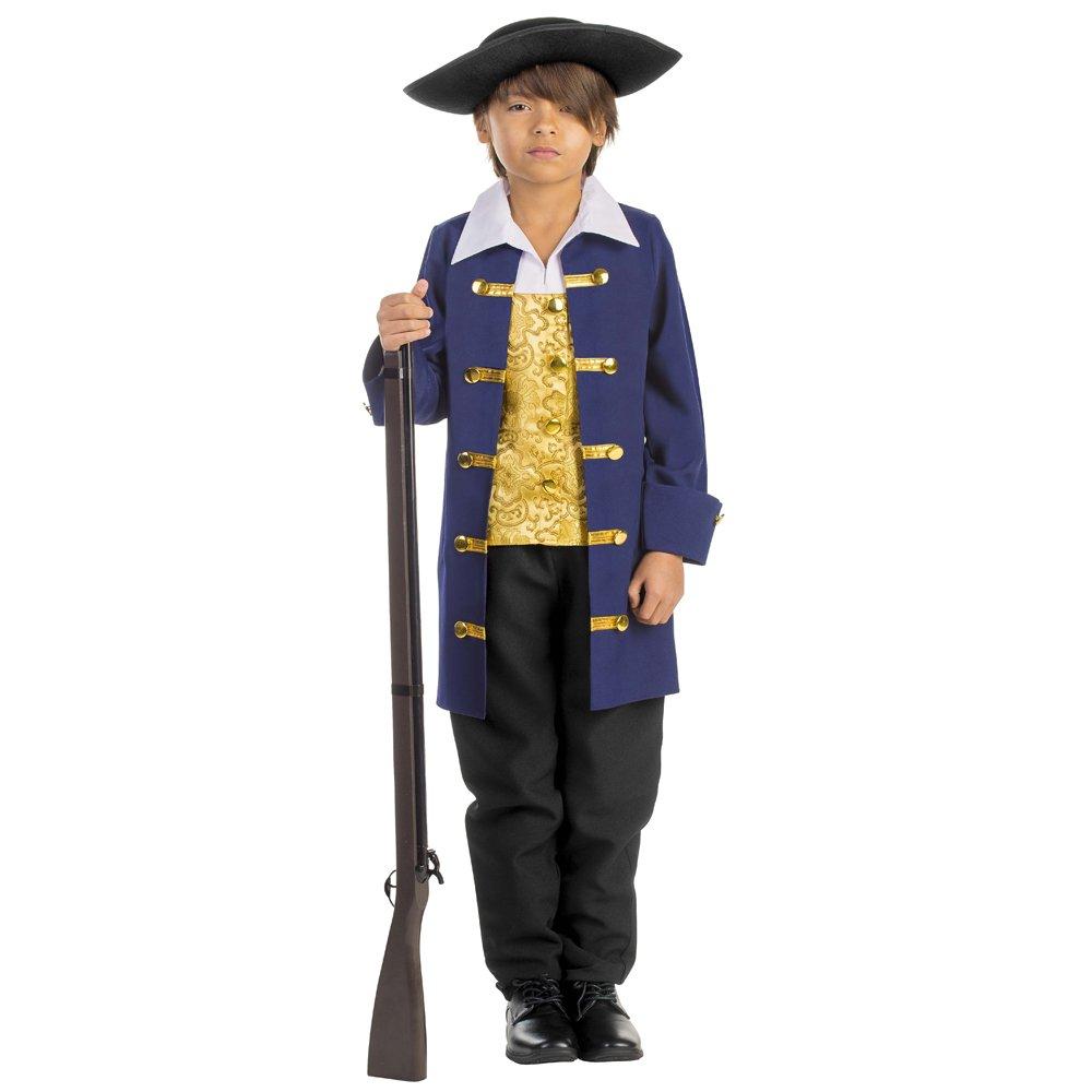 Dress Up America Boys Colonial Aristocrat Costume,Blue,Medium 8-10 (31waist, 47height) by Dress Up America