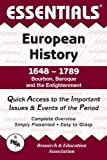 The Essentials of European History, 1648-1789: Bourbon, Baroque and the Enlightenment