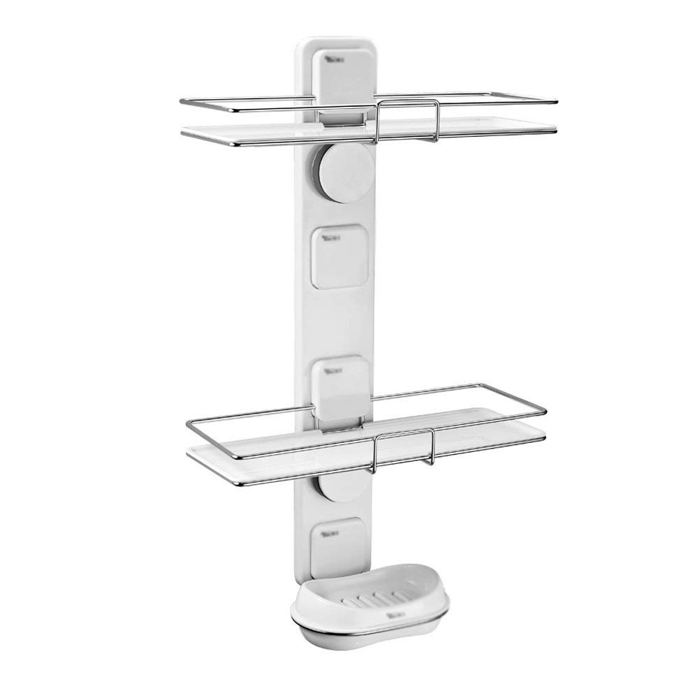 LUHEN Shelf, Floating Rack Bathroom Shelf Bathroom Wall Shelf Bathroom Stereo Shelf