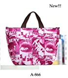 Womens Tote Thermal Bag Line Sexy Style Cooler Lunch Carry Handbag, Picnic, Purse, Lady's Fashions Bag