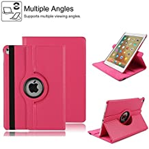 2017 New iPad 9.7 inch Case Cover,HuLorry Clear Smart Lightweight Cover Tough Sleeve Waterproof Case Drop Protection Rugged Protective Popular Cover for 2017 Apple New iPad 9.7