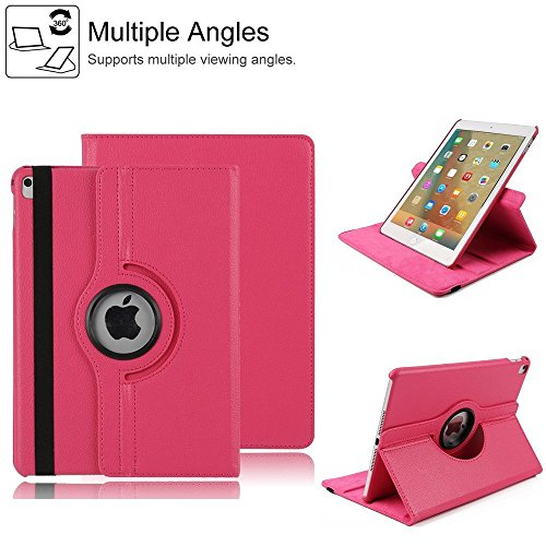 HuLorry Case for iPad Mini 3, Clear Smart Lightweight Cover Slim Sleeve 360 Degree Rotating Case Protection Rugged Protective Poplular Cover for iPad mini 1/iPad mini 2/iPad mini 3 Tablet 7.9 inch