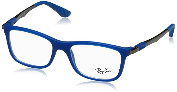 Ray-Ban JUNIOR 0ry 1549 3655 46 Monturas de Gafas, Matte Blue, Unisex-niños