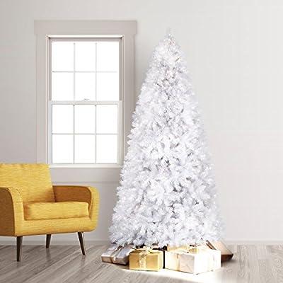 Treetopia Winter White Artificial Christmas Tree, 7 Feet, Unlit