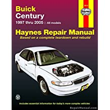 H19010 Haynes Buick Century 1997-2005 Auto Repair Manual