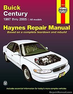h19010 haynes buick century 1997 2005 auto repair manual rh amazon com Car GPS Receiver Product Manuals Car GPS Receiver Product Manuals