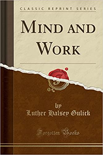 Mind and Work (Classic Reprint)