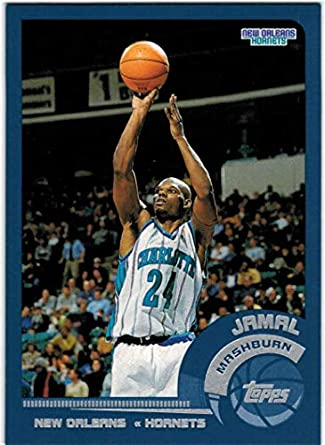 2002-03 Topps New Orleans Hornets Team Set with Jamal Mashburn   Baron  Davis - 86631198f