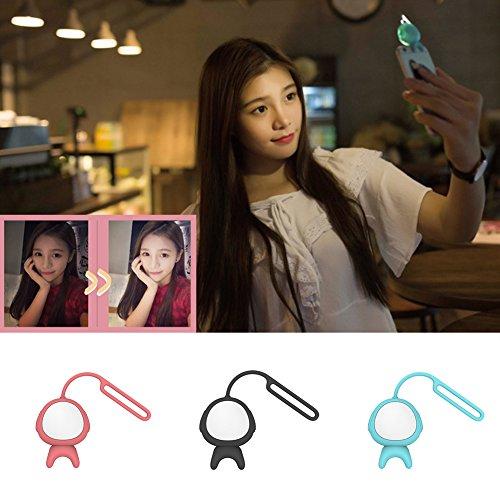 Cute Alien Shape Selfie LED Flash Fill Light Lamp Lighting for Smartphone (Ringing Phone Light Flasher)