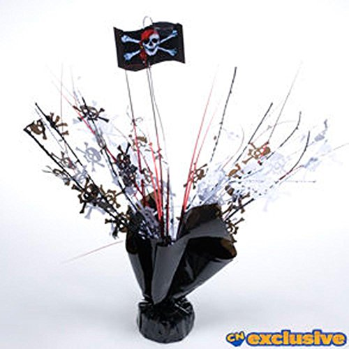 Party Deco Pirate Weighted Centerpieces -pkg/6