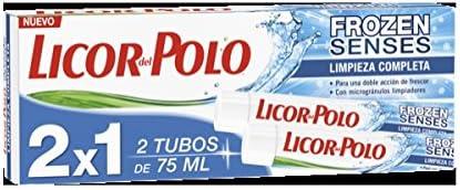Pasta de dientes frozen limpieza completa licor del polo 2x75ml ...