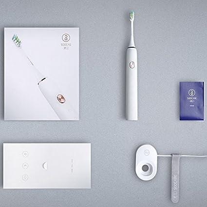 Xiaomi soocas X3 con App Control de carga inteligente inalámbrico resistente al agua Bluetooth Cepillo de