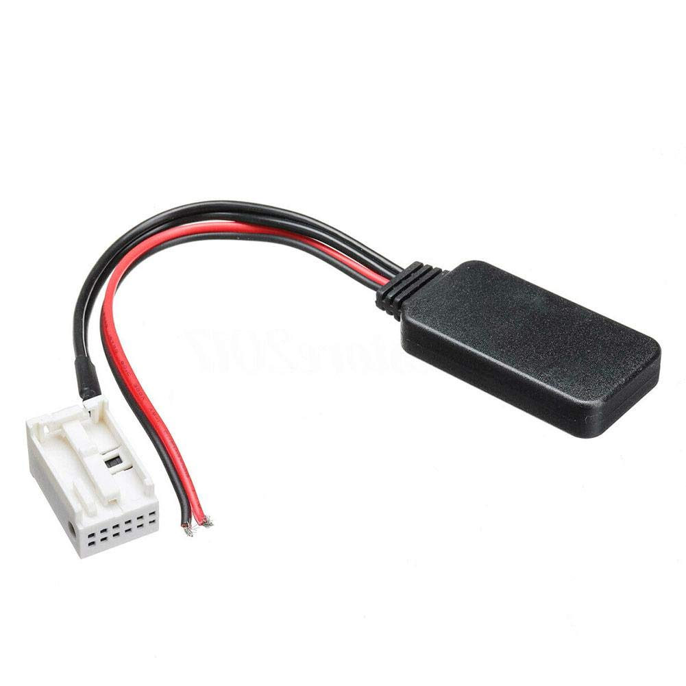 zaote Auto Bluetooth aux Kabel Adapter f/ür Peugeot 207 307 407 308 Citroen c2 c3 rd4 Agreeable