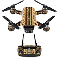 Skin for DJI Spark Mini Drone Combo - Desert Stripes  MightySkins Protective, Durable, and Unique Vinyl Decal wrap cover   Easy To Apply, Remove, and Change Styles   Made in the USA
