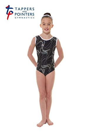 Tappers   Pointers GYM35 Justaucorps sans manches en nylon Lycra ... f8cef9b9e95
