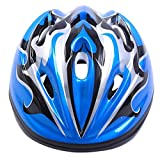 Tokou Children Bike Helmet Cycling Helmet Light Weight Helmet Specialized for Boys and Girls Riding Safety Blue