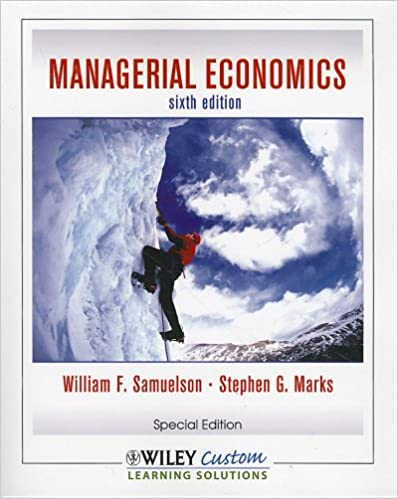 Managerial economics 6th edition allen solutions manual.